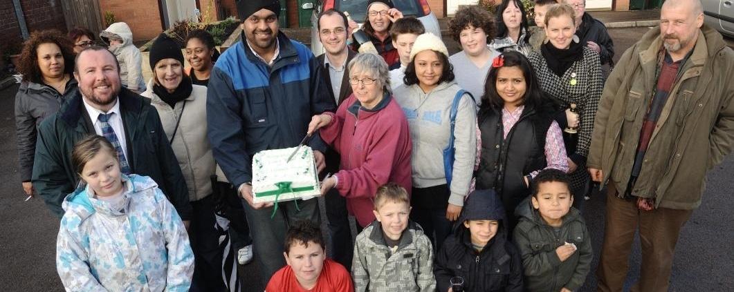 Community - Iden Road Coventry - DIY Streets Sustrans - Thrussells