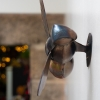 Copper and steel Bee wall sculpture. Made by Thrussells