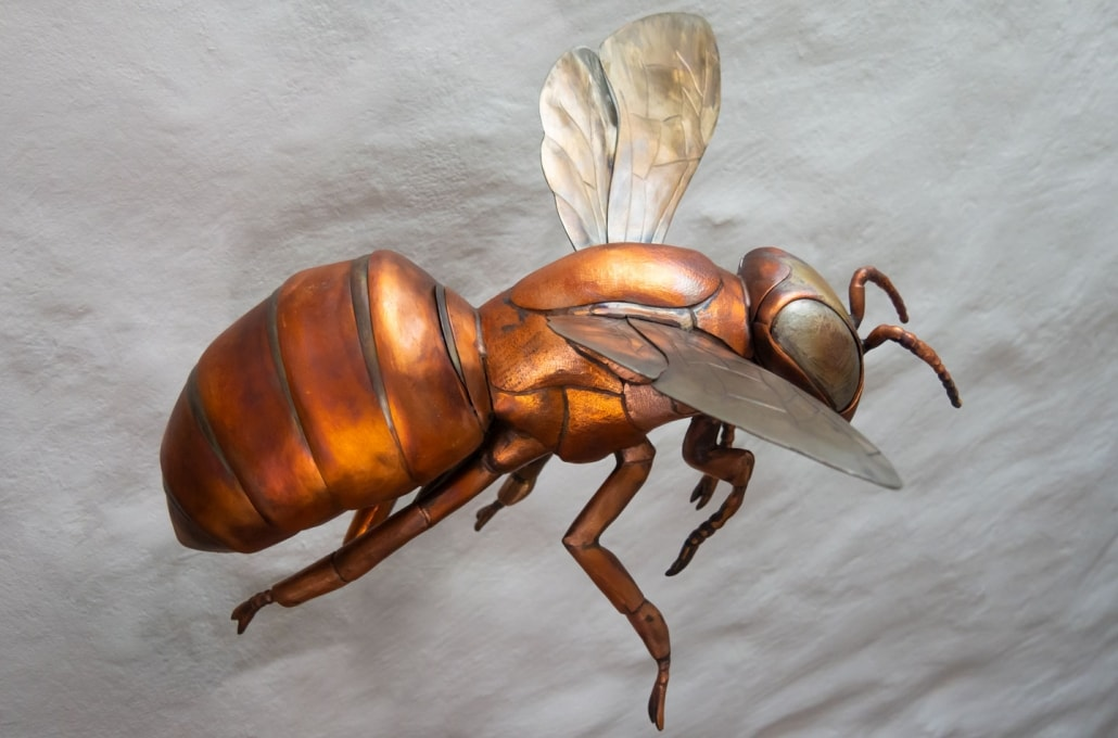Giant Bee Sculpture - Thrussells