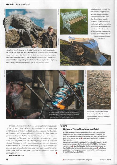BauMetal German Magazine 2018